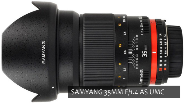 Samyang 35mm f/1.4 AS UMC
