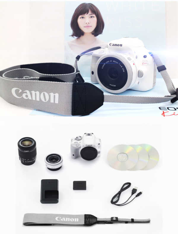 Canon White Kiss X7 фото 2
