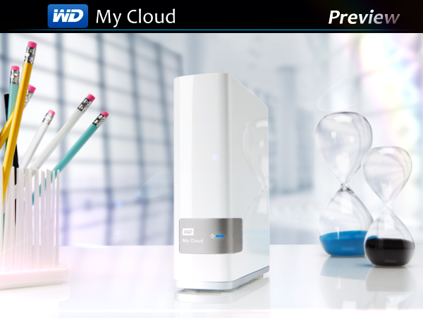 WD My Cloud персональное хранения данных